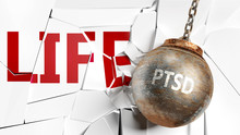 Ptsd And Life - Pictured As A ...