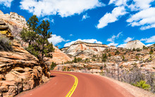 Zion-Mount Carmel Highway At Z...