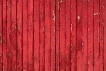 Red Rustic Wood Background