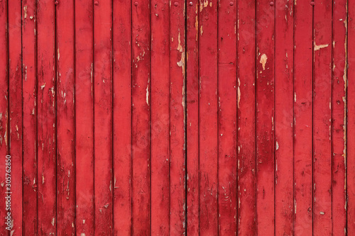 Fototapeta deski  red-rustic-wood-background