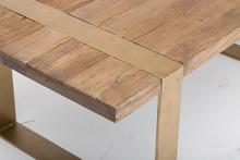 Gold End Table, Bernhardt End ...