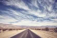 Desert Road In Death Valley, C...