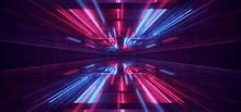 Laser Show Club Dark Neon Sci ...