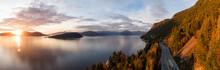 Sea To Sky Hwy In Howe Sound N...