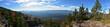 Blick auf den Bayerischen Wald vom Flakenstein