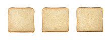 Top View Of Wheat Bread Slices...
