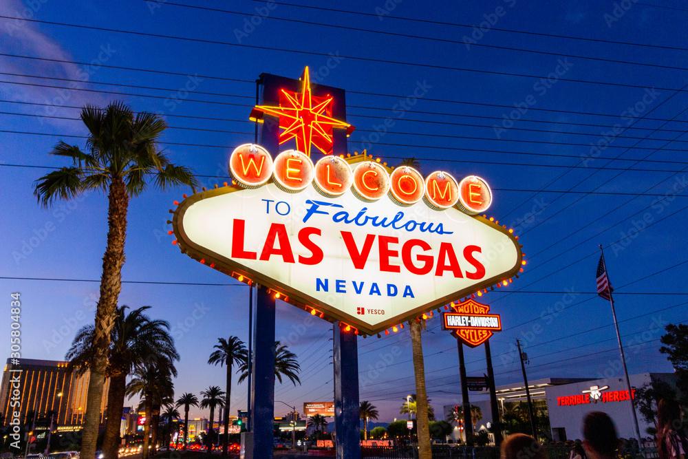 Fototapeta Las Vegas - USA
