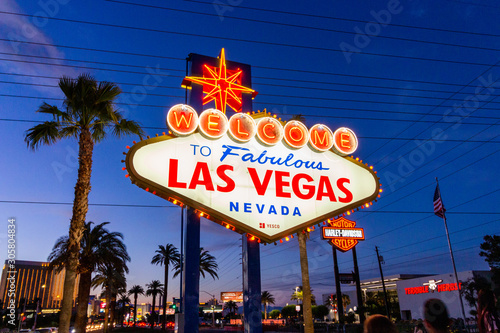 Las Vegas - USA Canvas Print