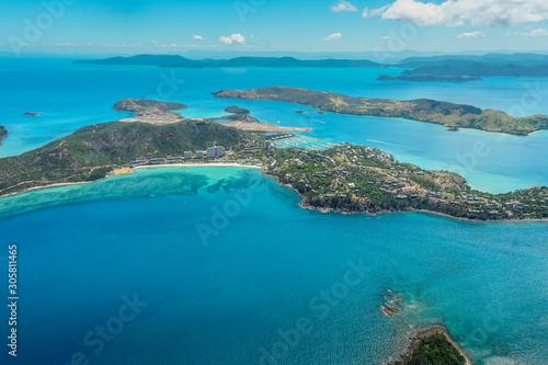 Cuadros en Lienzo Hamilton Island Aerial View