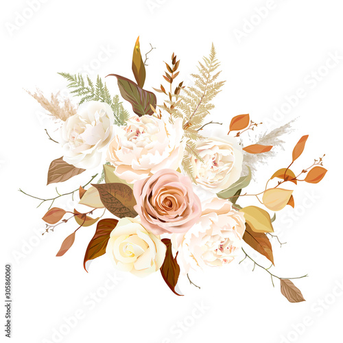 moody-boho-chic-wedding-vector-bouquet
