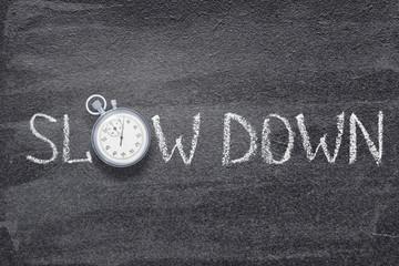 slow down watch