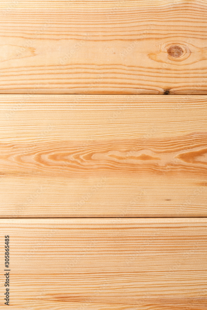 Bright wooden background with copyspace. Texture