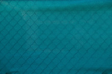 Green Construction Fence Texture Background.