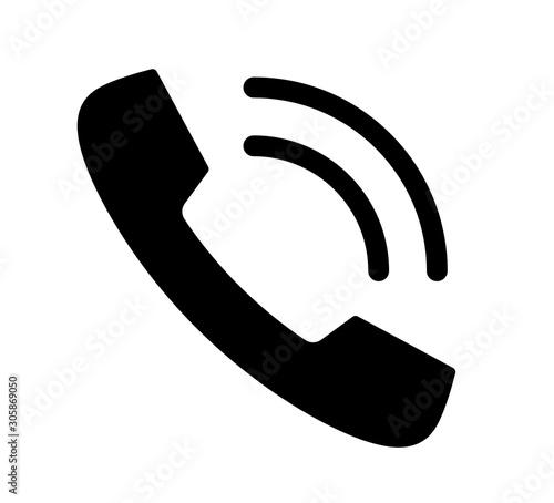 Fototapeta 電話のアイコン