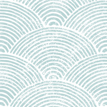 Seigaiha Wave Seamless Pattern...