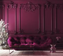 Cozy Christmas Home Interior W...