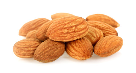Almond. Almond nut isolated on white background