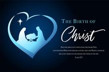 Christmas Scene Of Baby Jesus ...