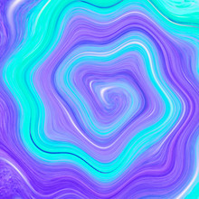 Wave Abstract Background. Marbling, Acylic Paint Texture