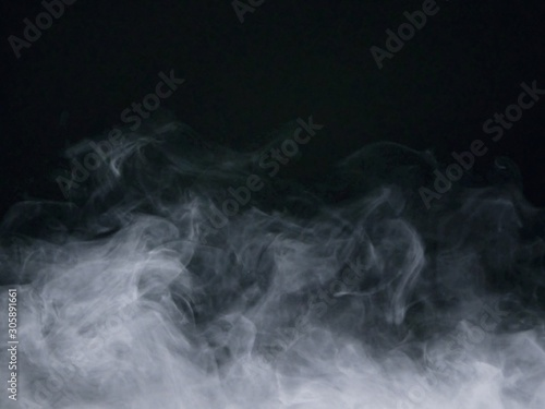 Fotografie, Obraz smoke on black background