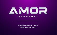 Modern Alphabet Font. Typograp...