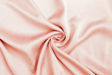 Abstract Waving Pink Fabric Pattern Background, Pink Fabric Texture Background