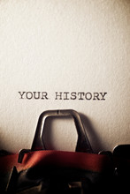 Your History Concept