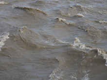 Muddy Water Surface Background