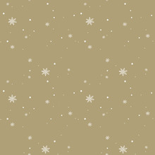 Seamless Winter Pattern With S...