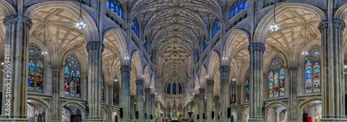 Fototapeta saint patrick church in new york obraz