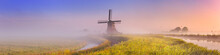 Traditional Dutch Windmill At ...