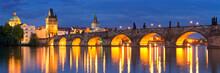 The Charles Bridge In Prague, ...