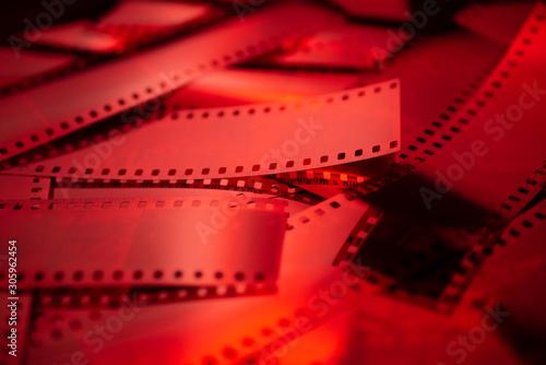 Pellicule photo de près - rouge Wallpaper Mural