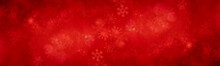 Xmas Background. Red Pattern Snowflake Backdrop Wallpaper.