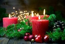 Vierter Advent - Brennende Rot...