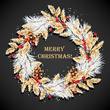 Christmas Vector Design With W...