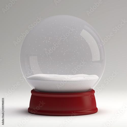 Snow globe #305986833