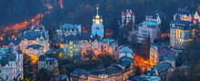View To Karlovy Vary City From...