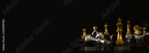 Fotografie, Obraz  Image of chess game