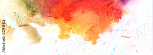 Art Abstract paint blots background. Alcohol ink colors. Marble texture.