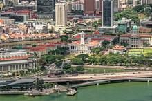 Blick Vom Marina Bay Sands Hot...