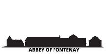France, Abbey Of Fontenay City...