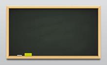 Dark Green School Blackboard O...