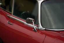 Close-up Of A Red British Clas...