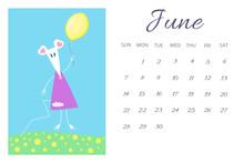June Calendar Sheet 2020 With ...