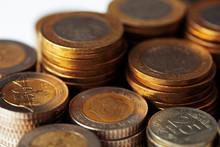 Metal Turkish Money, Coins, Turkey Financing
