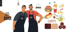 Burger House -small Business G...