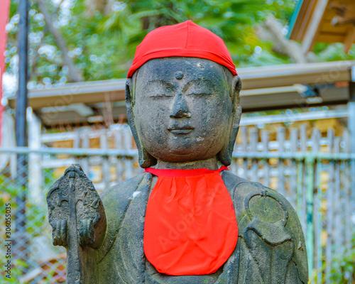 Obraz na płótnie Buddha Sculpture, Ueno Park, Tokyo, Japan