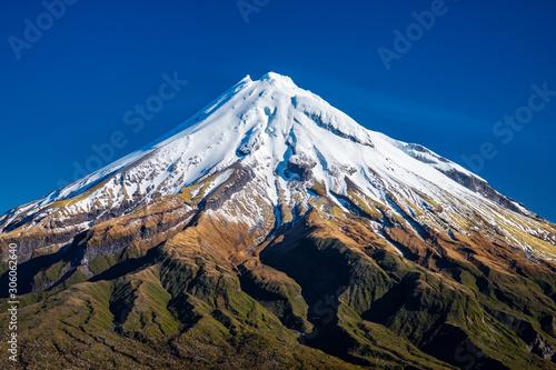 Fototapeta View of Mt. Taranaki (Mt. Egmont), New Zealand