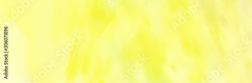 header abstract brushed background with pastel yellow, khaki and lemon chiffon color and space for text or image